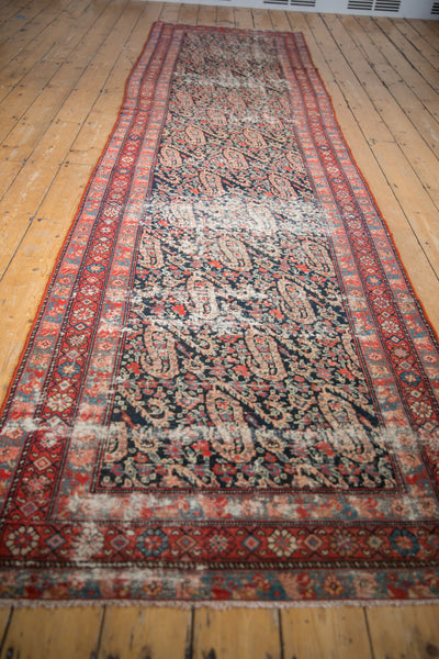 Distressed Antique Paisley Malayer Rug Runner / Item 2667 image 20
