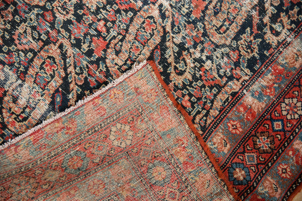 Distressed Antique Paisley Malayer Rug Runner / Item 2667 image 14