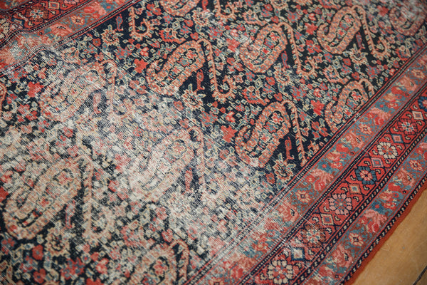 Distressed Antique Paisley Malayer Rug Runner / Item 2667 image 8