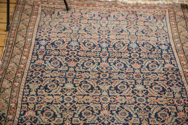 3.5x6 Distressed Antique Malayer Rug - Old New House