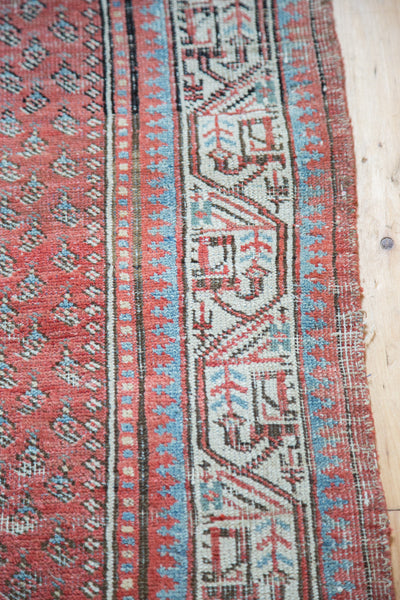 4.5x6.5 Distressed Antique Mir Serbend Rug - Old New House