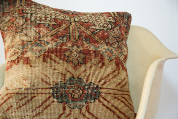 Antique Persian Rug Pillow - Old New House