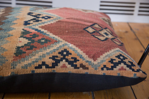 Antique Kilim Floor Pillow