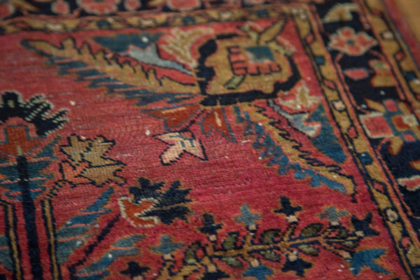 2x3 Vintage Persian Sarouk Rug Mat - Old New House