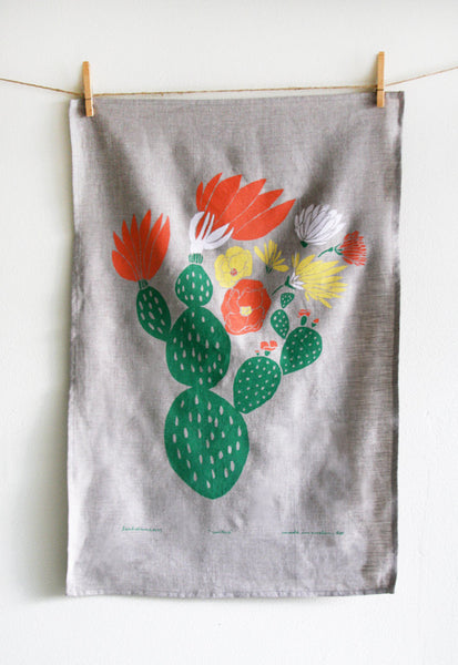 Cactus Tea Towel - Old New House