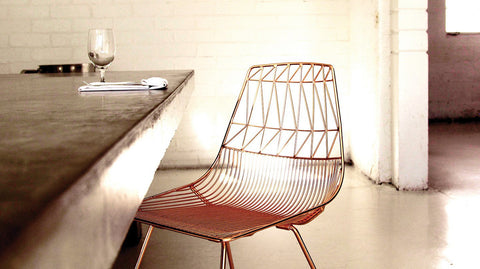 Modern Copper Chair