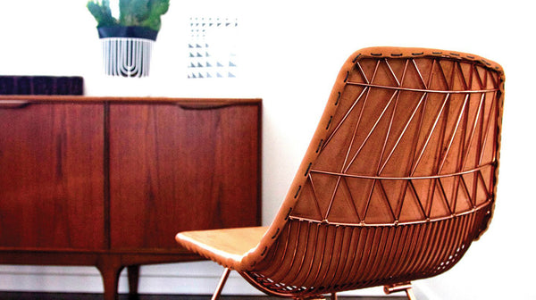 Lucy Chair Leather Pad - Old New House