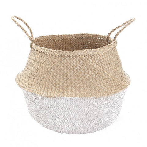 LG White Dipped Belly Basket