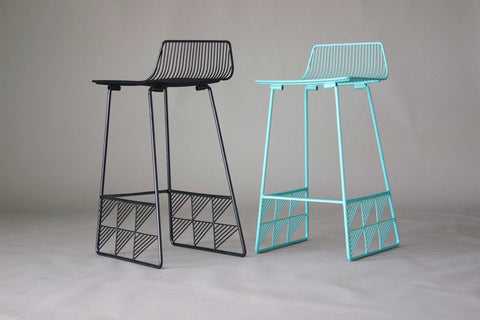 Low Back Modern Stool