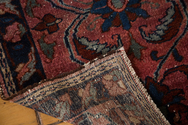 2x3 Antique Distressed Lilihan Rug Mat - Old New House