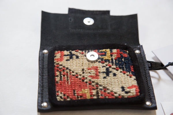 Rug Fragment Coin Purse - Old New House