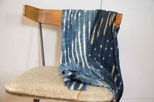 Batik Indigo Throw - Old New House