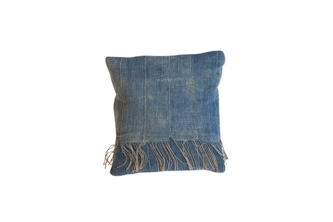 African Indigo Handmade Pillow - Old New House