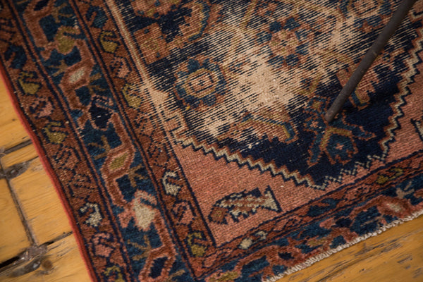 2.5x3.5 Antique Distressed Malayer Rug - Old New House