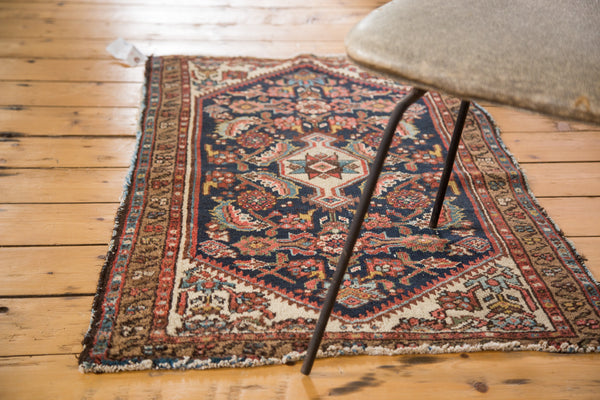 2x4 Vintage Distressed Malayer Rug Runner - Old New House