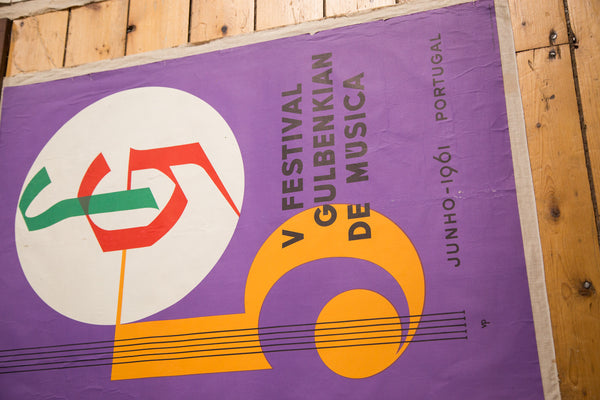 Mid Century Music Poster - Old New House