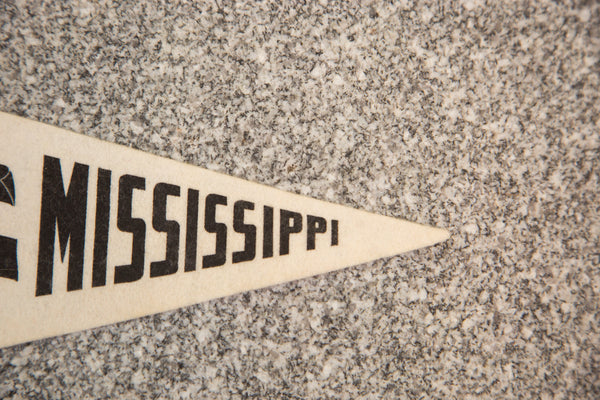 Mississippi State Felt Flag - Old New House