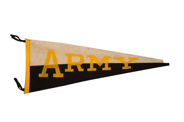 Army Duo Color Felt Flag - Old New House