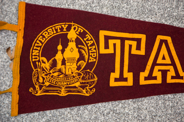 University of Tampa Felt Flag - Old New House