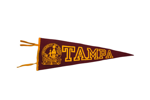 University of Tampa Felt Flag