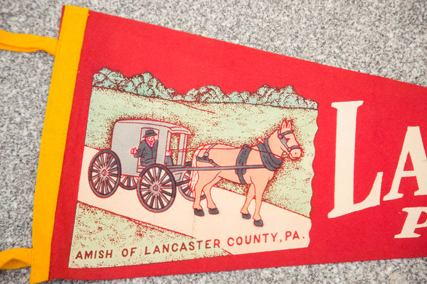 Lancaster PA Felt Flag - Old New House