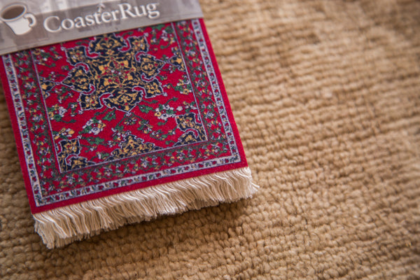 Star Ushak MET Rug Coaster Set - Old New House