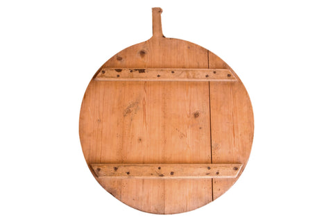 Large Vintage Wooden Pizza Serving Board