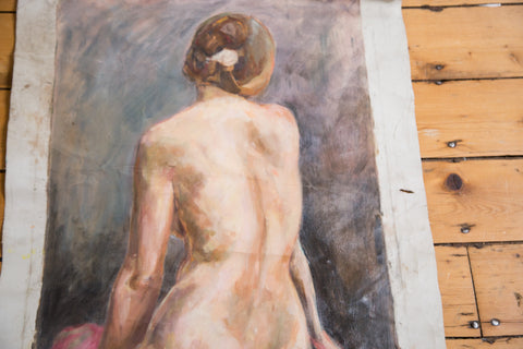 Nude Portrait Painting