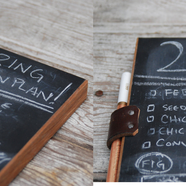 Reclaimed Handheld Chalkboard Pad - Old New House