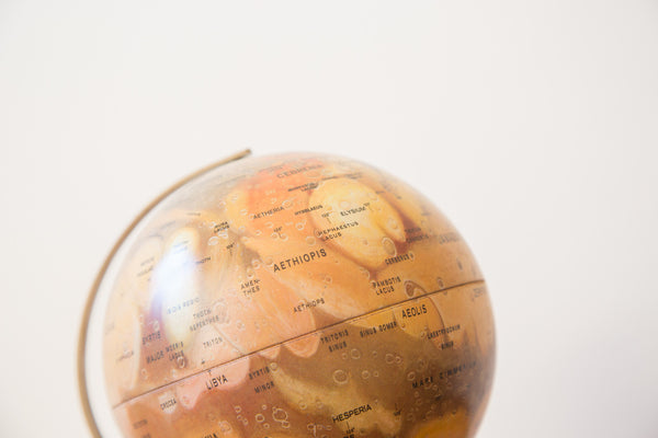 Vintage Mars Globe - Old New House