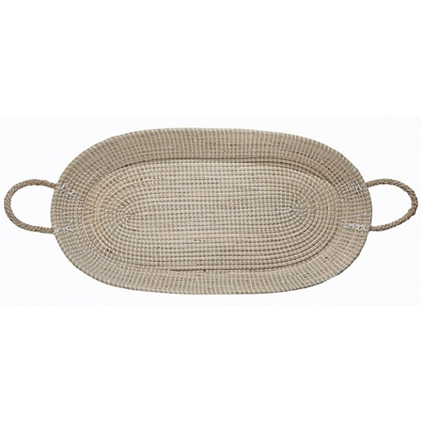 Fair Trade Long Basket Tray - Old New House