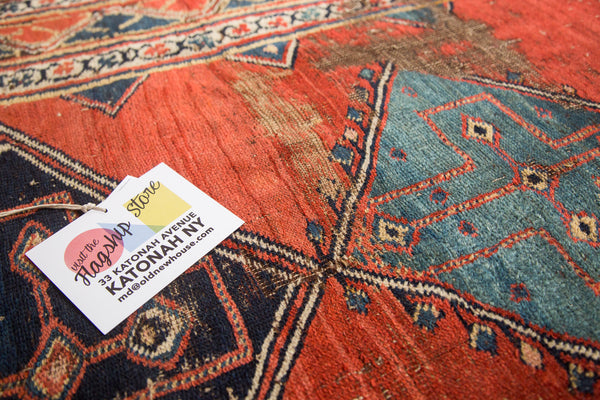 Antique Bijar Rug Runner
