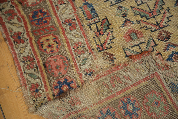Antique Kurdish Bijar Rug
