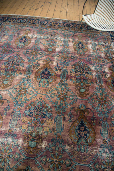 Distressed Yezd Carpet