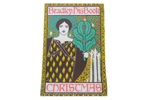 William Henry Bradley Vintage Lithograph Poster