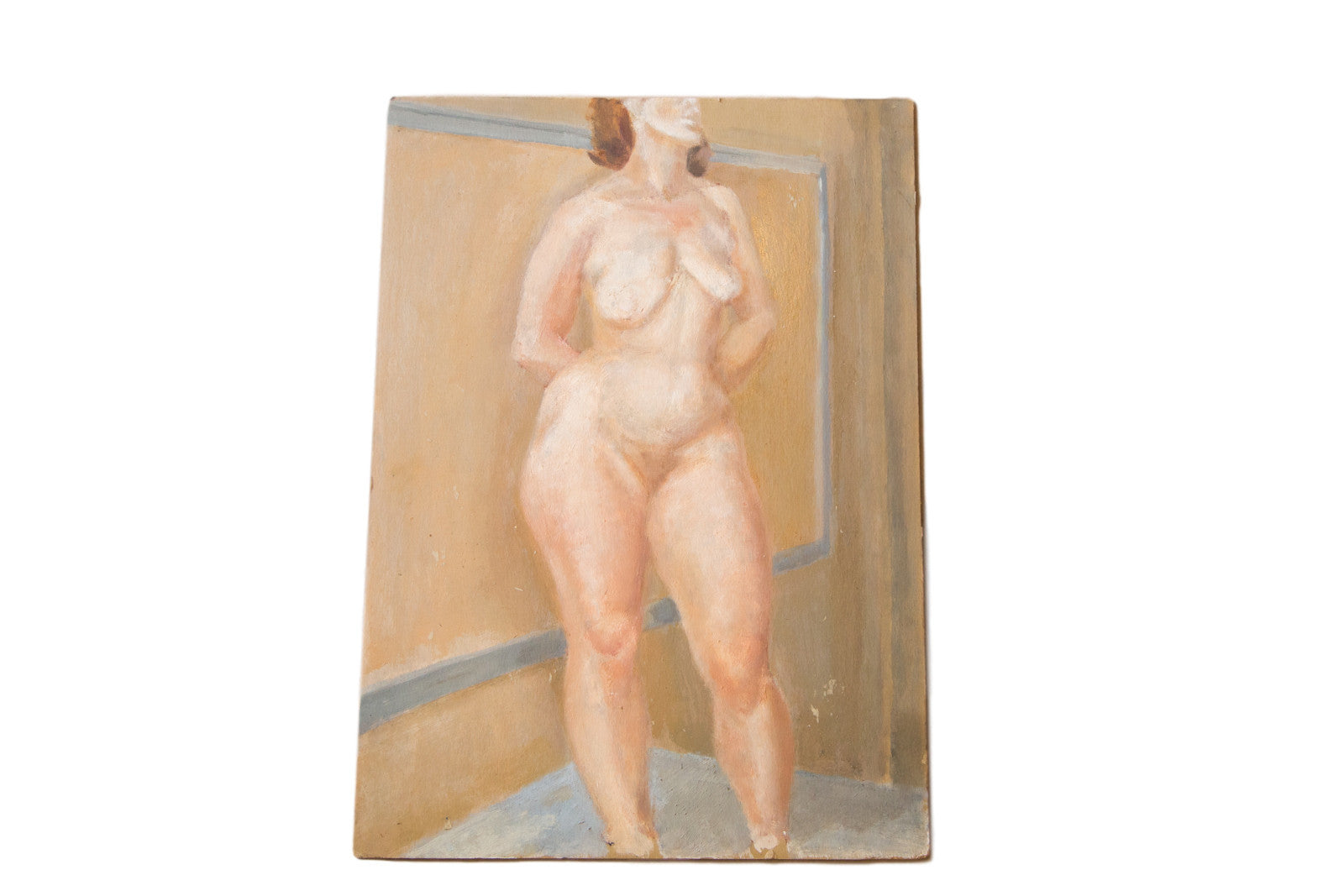 Previous Image Next Vintage Full Figure Nude Painting