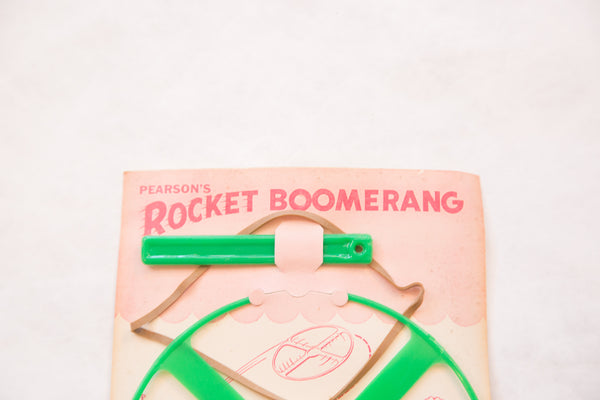 PRELIM Mid Century Pearson's Boomerang Toy - Old New House