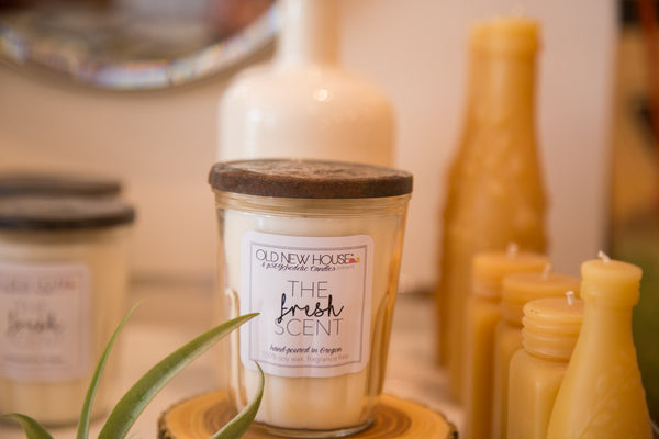 Vintage Jelly Jar Soy Candle - FRESH