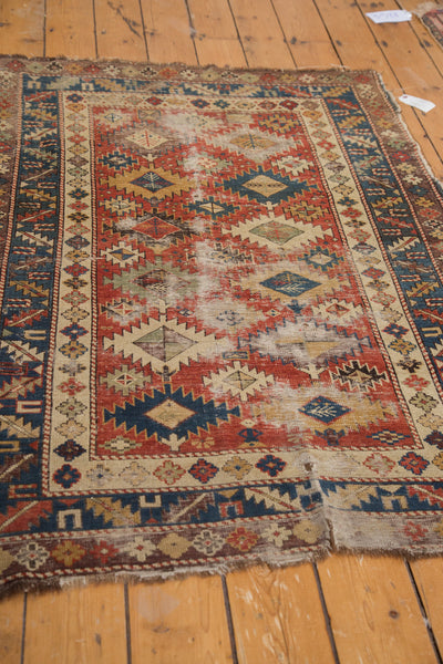 Antique Caucasian Shirvan Rug / Item 3538 image 4