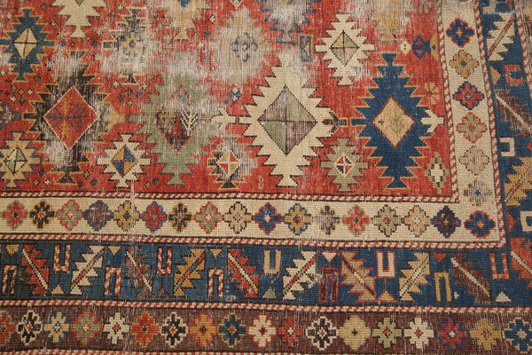 Antique Caucasian Shirvan Rug / Item 3538 image 7