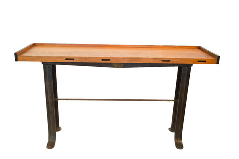 Industrial Work Table Counter - Old New House