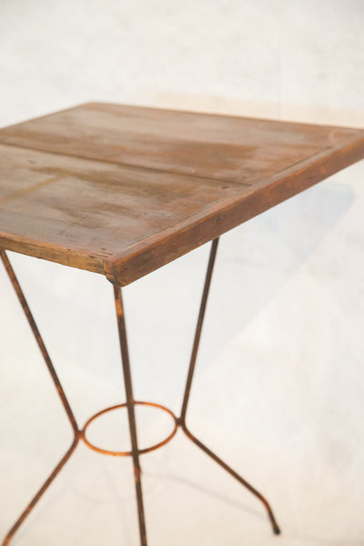 Reclaimed Square Side Table - Old New House