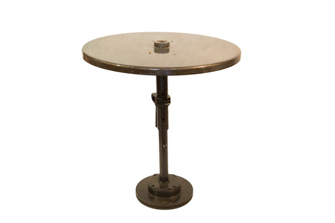 Reclaimed Industrial Bistro Table Dark Green
