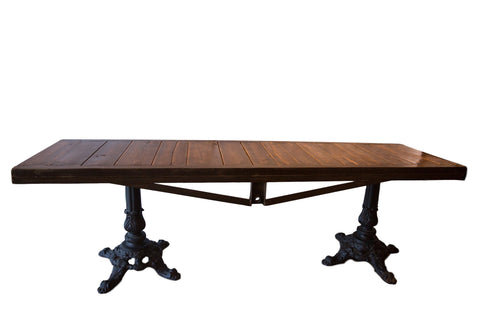 Made in USA Reclaimed Wood Buffet Table / ONH Item 3580