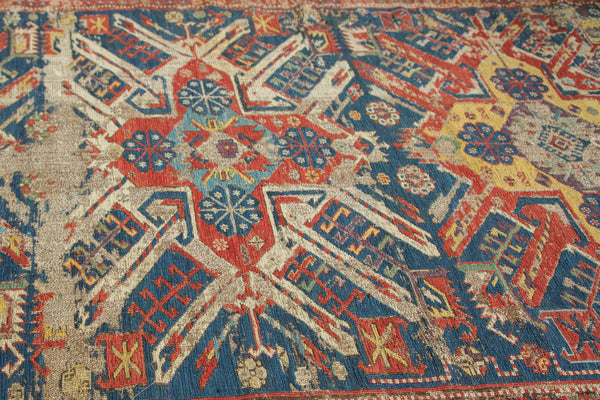 Antique Eagle Soumac Rug Runner