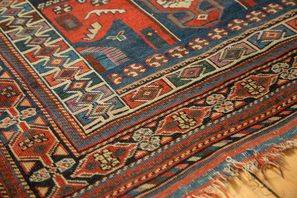 Antique Kamseh Rug