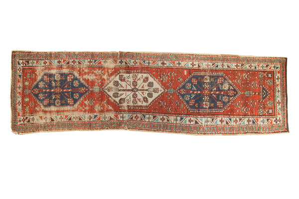 3' x 10' Antique North West Persian Rug Runner / Item 3627 image 1