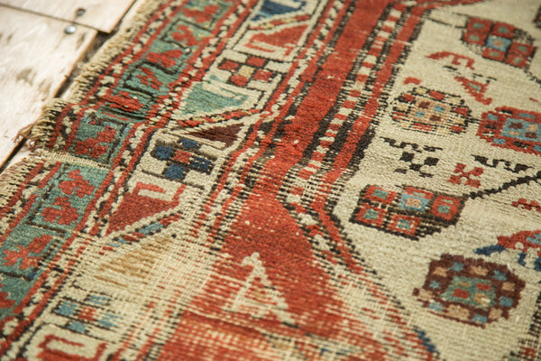 Antique North West Persian Rug Runner / Item 3627 image 8
