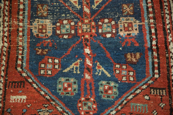 Antique North West Persian Rug Runner / Item 3627 image 9