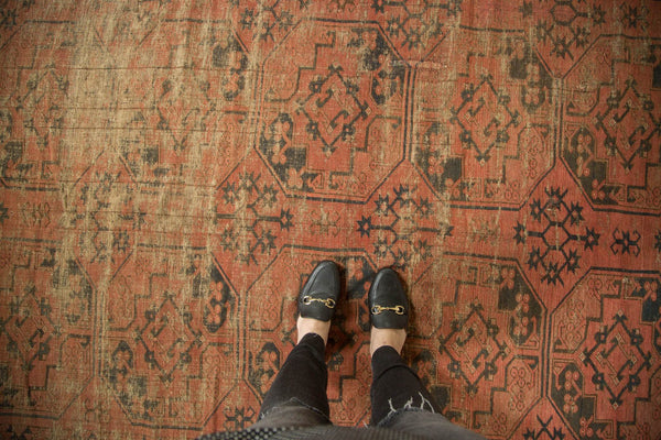 Antique Ensi Square Carpet